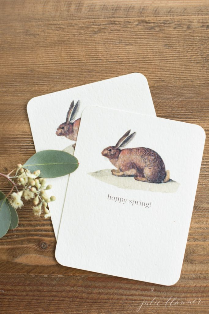 free printable cards for spring