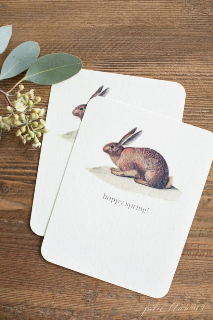 printable cards for spring