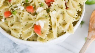 easy fiesta pasta salad recipe | Mexican pasta salad