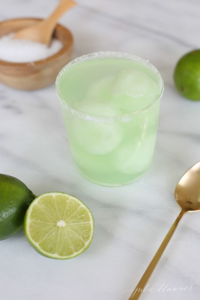 how to make a margarita float - the most refreshing summer drink