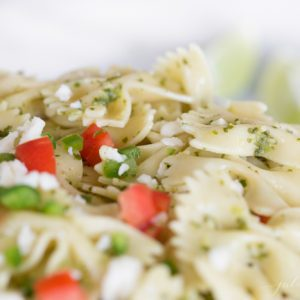 easy fiesta pasta salad recipe | Mexican pasta salad