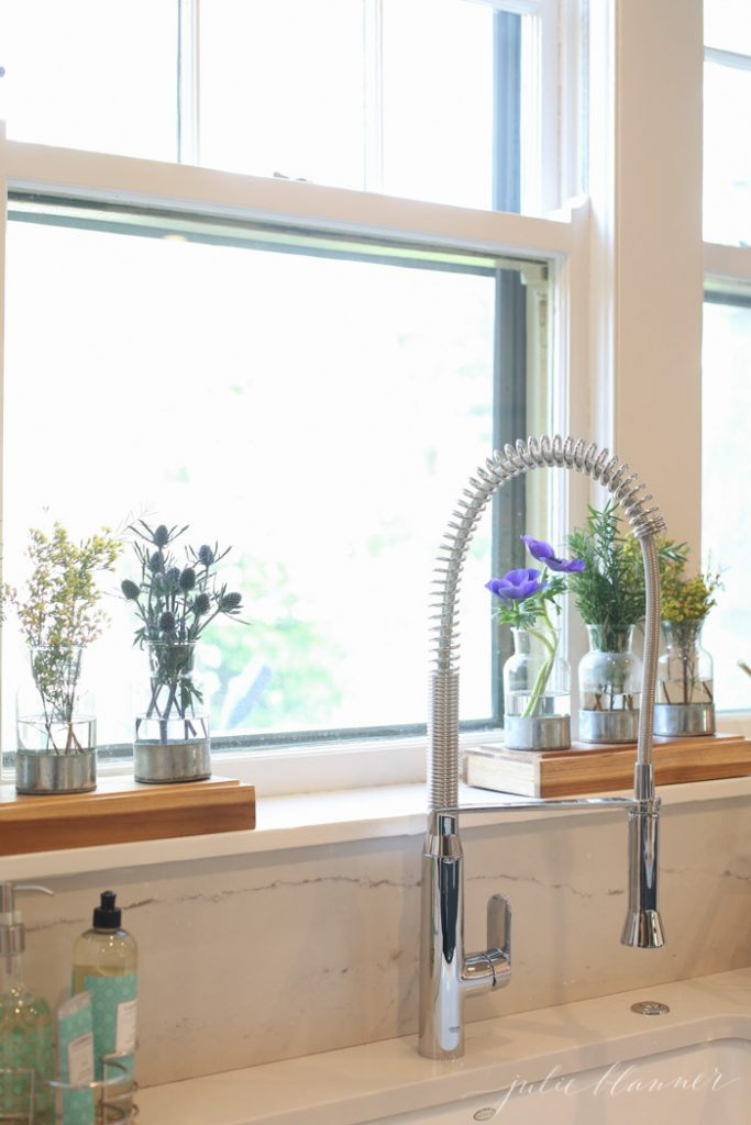 pro faucet | modern finishes in an old home