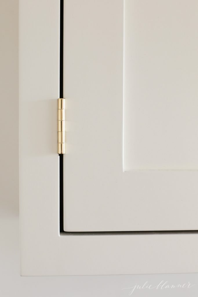 unlacquered brass cabinet hardware - hinges, knobs and pulls