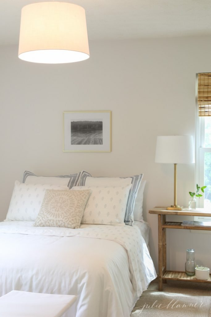 easy ways to update a home - inexpensive light fixture