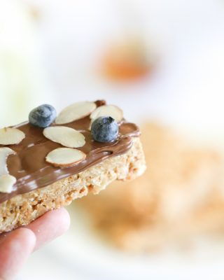 4 ingredient easy no bake granola bars recipe