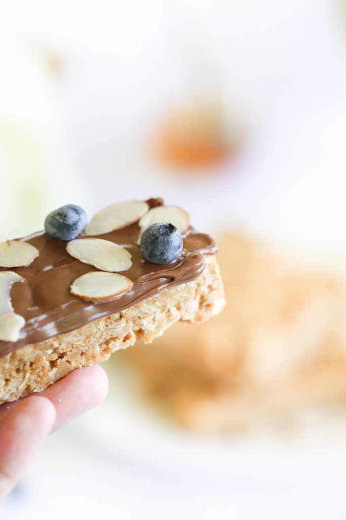 4 ingredient easy no bake granola bars recipe