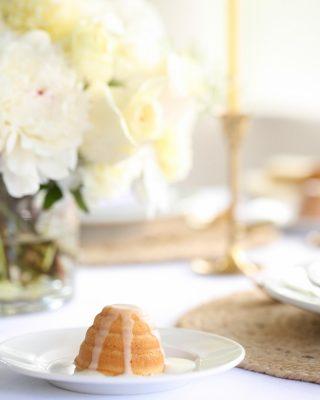 summer dessert recipe - honey lemon cake