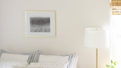 inexpensive homemade art - framing photos
