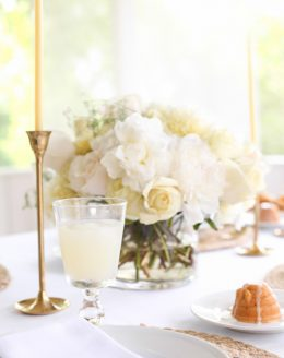 summer table setting photos