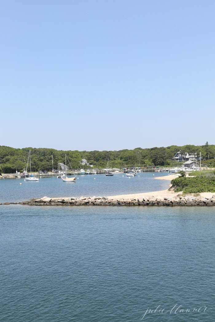 how to get to Martha's vineyard - using the Martha's vineyard ferry