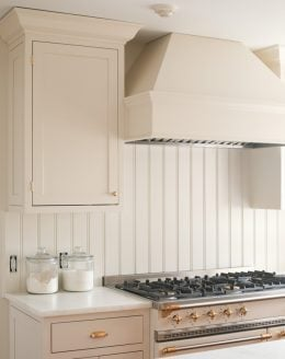 cream kitchen cabinets