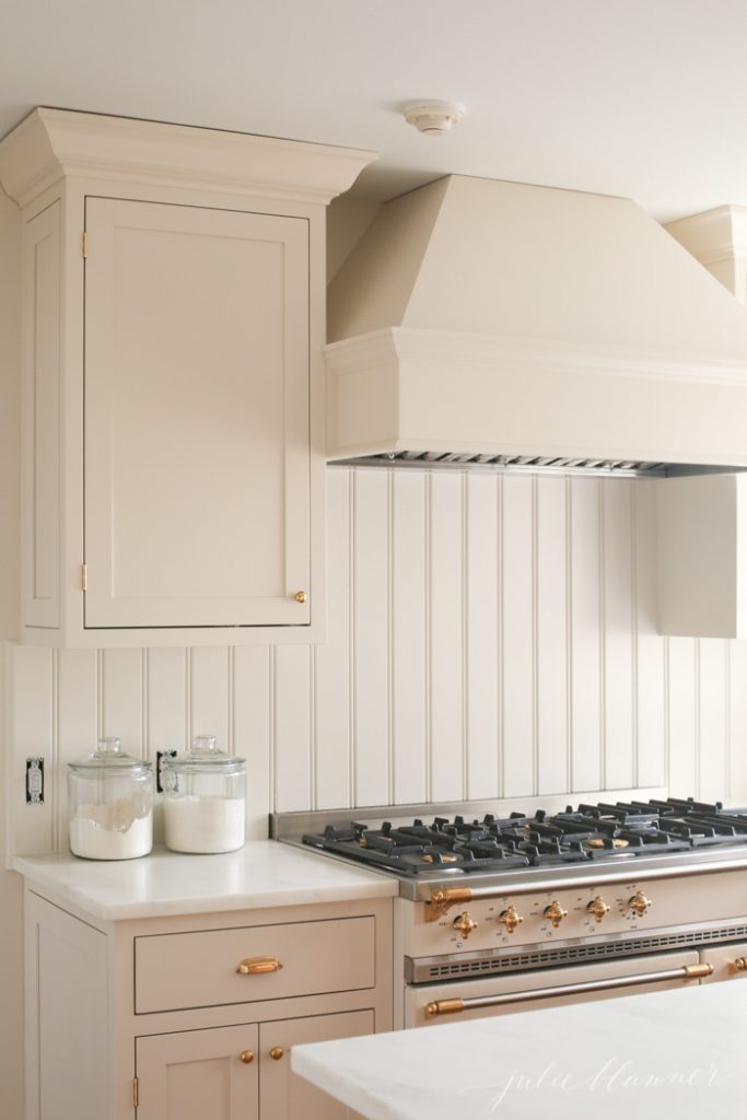 Cream Kitchen Cabinets | Cream Paint Color Perfect for a Warm and ...