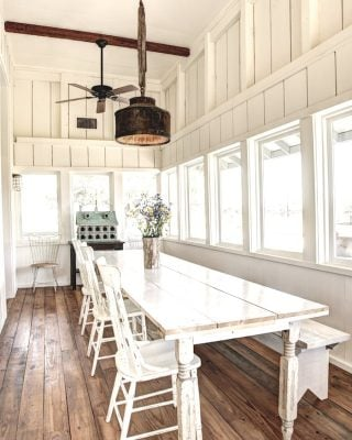 modern farmhouse tour filled with easy diy projects and decorating ideas