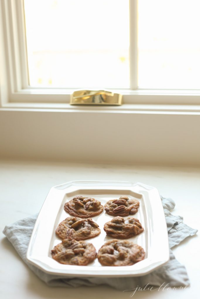 better than pecan pie cookies - easy fall cookie recipe