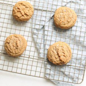 sweet and salty dessert - brown sugar cookies
