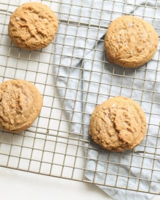 sweet and salty dessert - brown sugar cookies