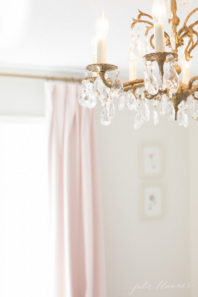 how to hang ready made curtains to look like custom drapes