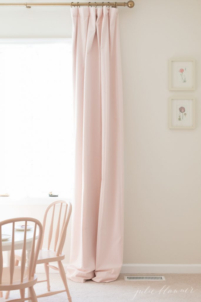 How To Hang Curtains Pleat Pretty