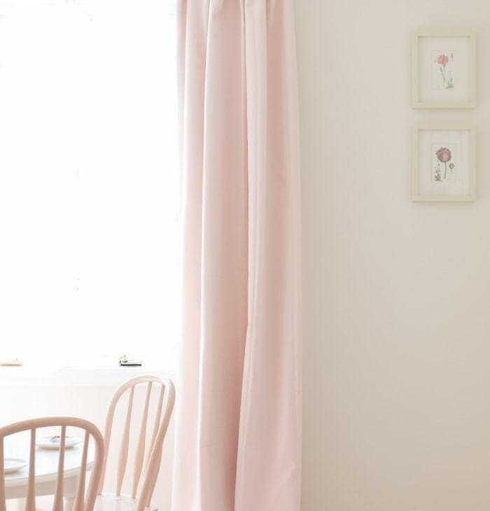 how to hang curtains to pleat pretty