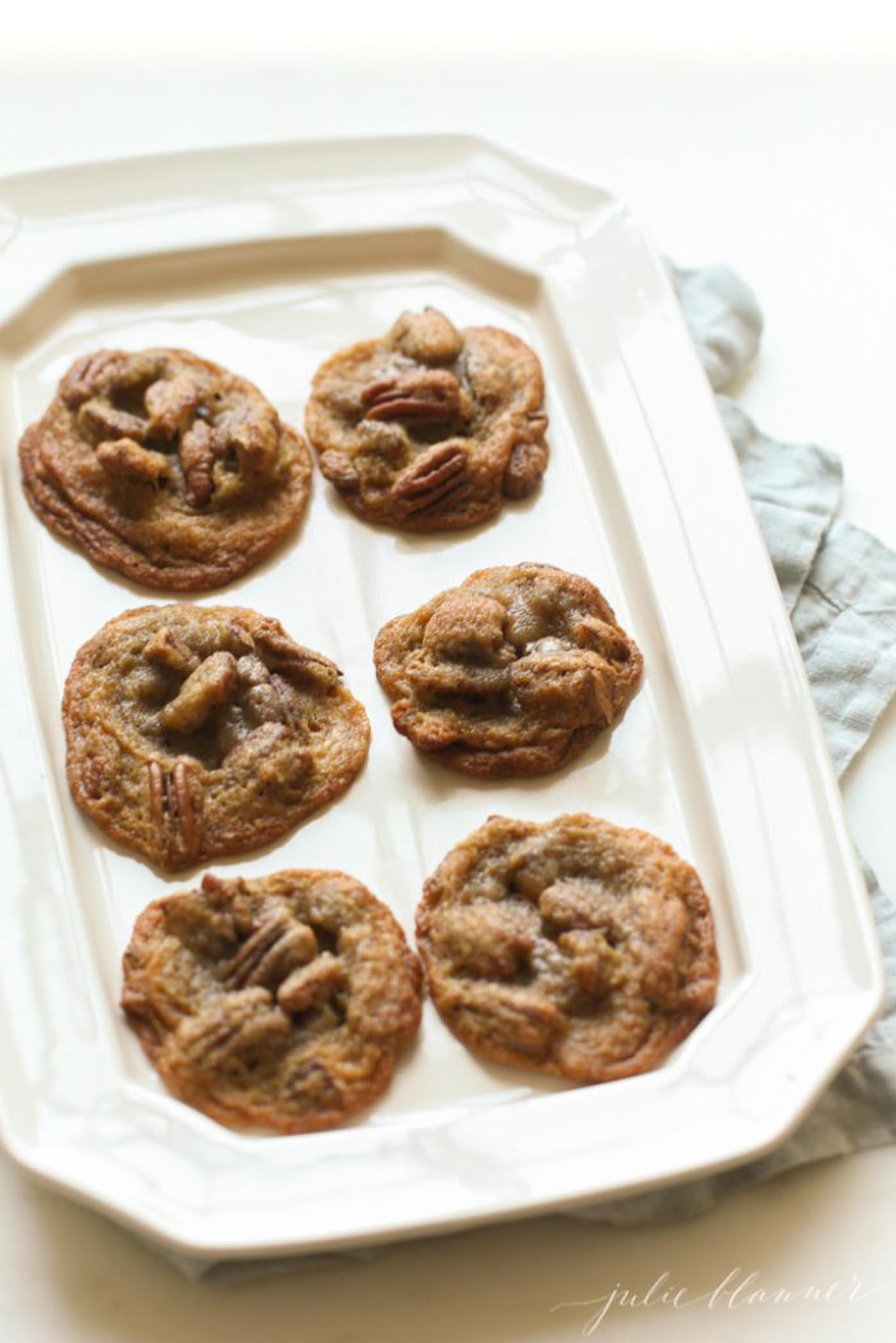 pecan pie cookie recipe