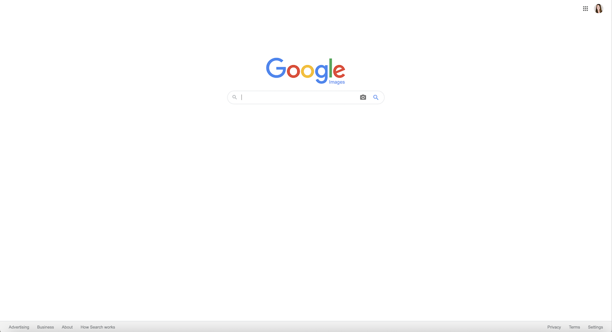 screenshot of google reverse image search