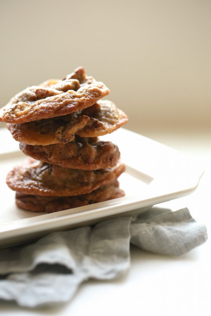 these pecan pie cookies taste better than the pie itself!