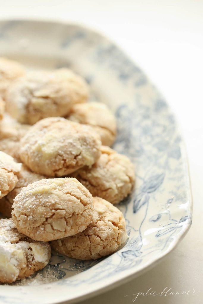 Brown Butter Crinkle Cookies