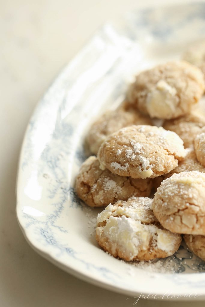 how to make brown butter crinkle cookies