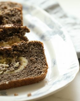 chocolate lover's bread | cookies and cream quick bread recipe