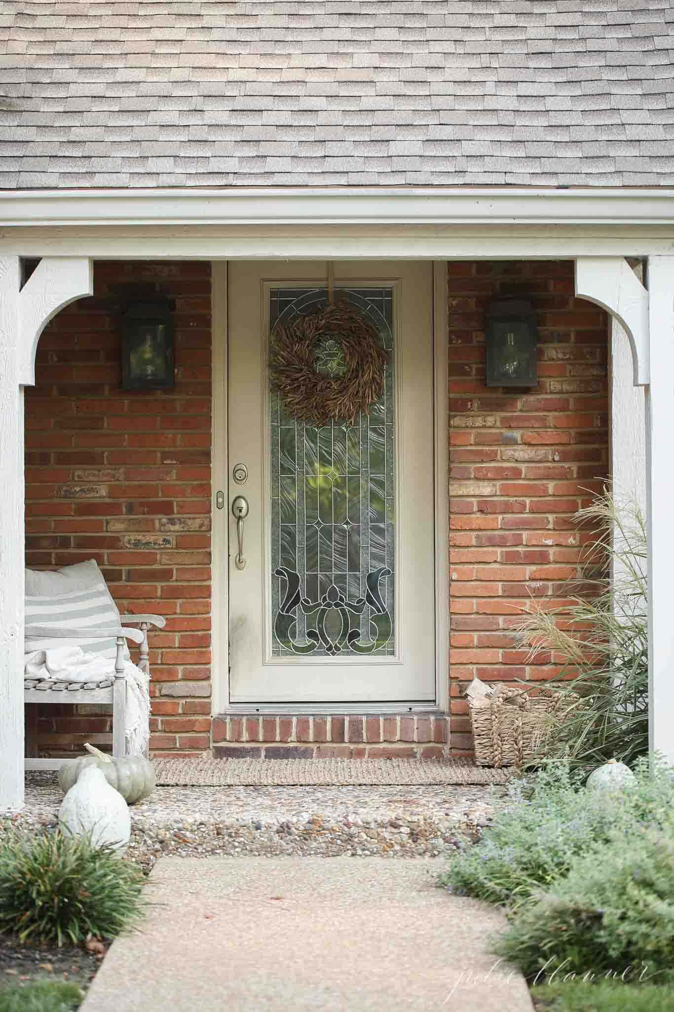 easy ways to integrate fall into your porch