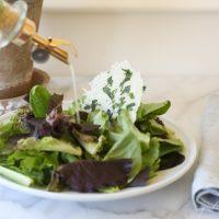 easy herb vinaigrette salad dressing