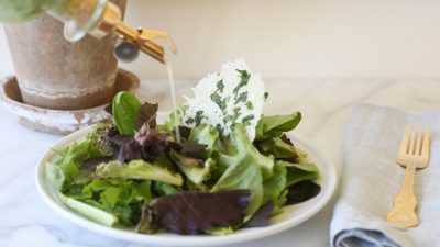 easy herb vinaigrette salad dressing