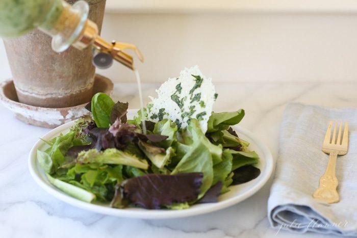 easy herb vinaigrette dressing for salads