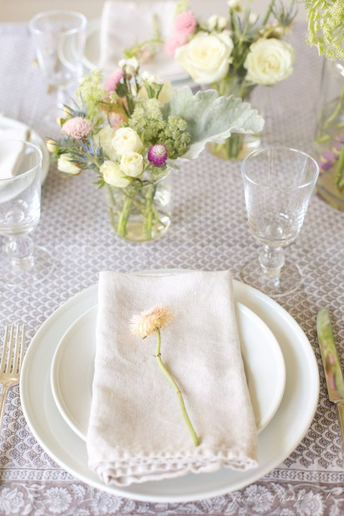 tips to set a table