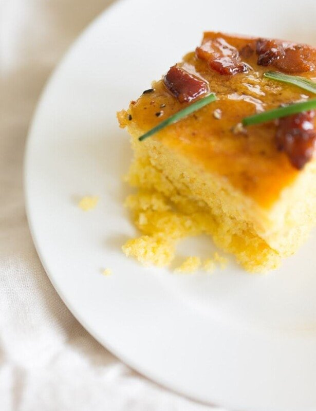 homemade cornbread recipe with maple butter