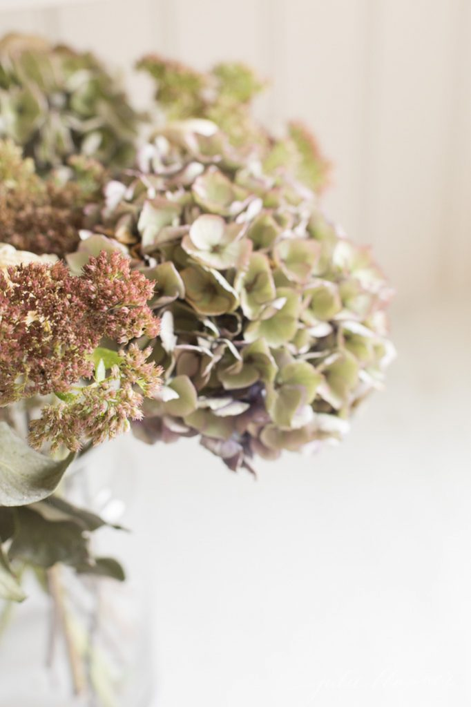 Decorating with Dried Flowers