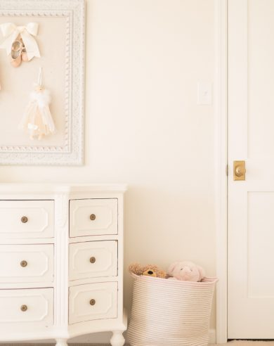 girls bedroom inspired by the dance of the sugar plum fairy from nutcracker