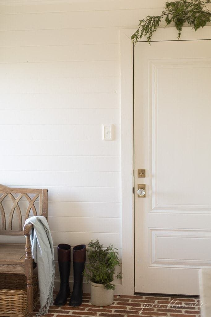 simple Christmas decorating ideas from lifestyle and home blogger Julie Blanner