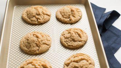 snickers stuffed peanut butter cookie recipe