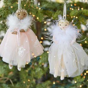 monique lluhlier ballerina doll ornaments