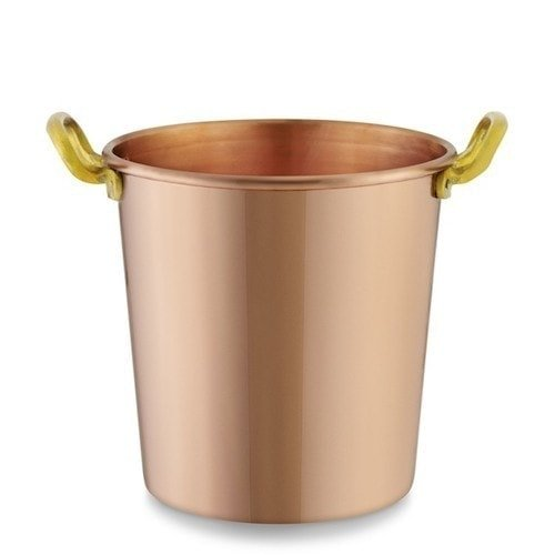 copper bar tools ice bucket doubles as a vase