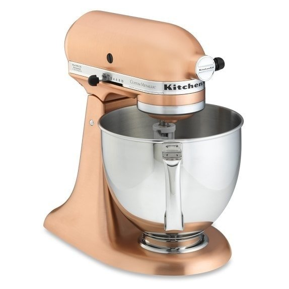 copper kitchenaid stand mixer