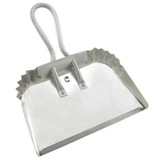 large aluminum dust pan