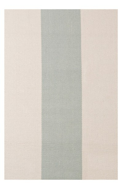 easy to clean indoor outdoor ivory stripe rug