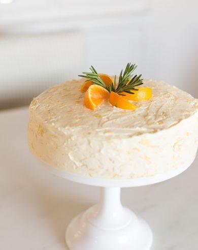 Mandarin Orange Cake Recipe Made from Scratch without a Cake Mix