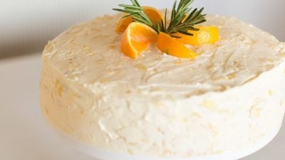 Mandarin Orange Cake Recipe Made from Scratch without a Cake Mix