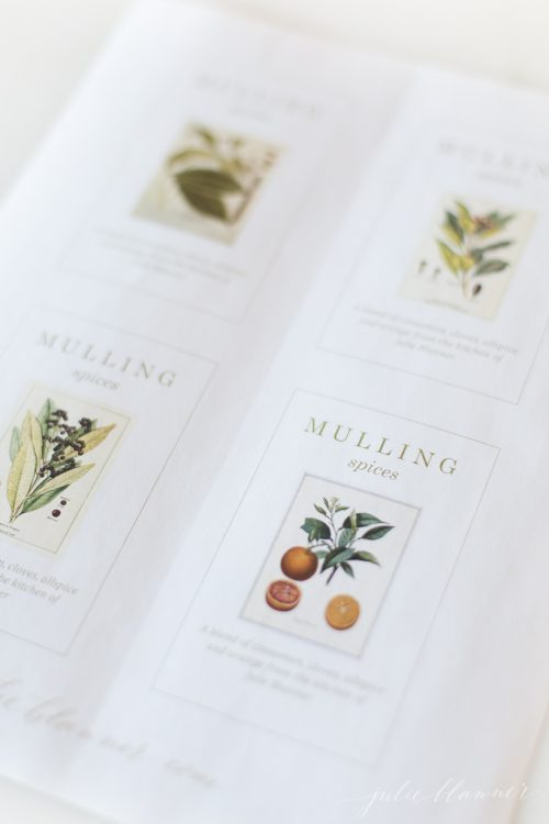 Free Printable Labels For Homemade Mulling Spices Christmas Gift