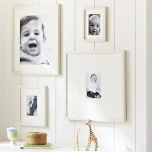 cream picture frame