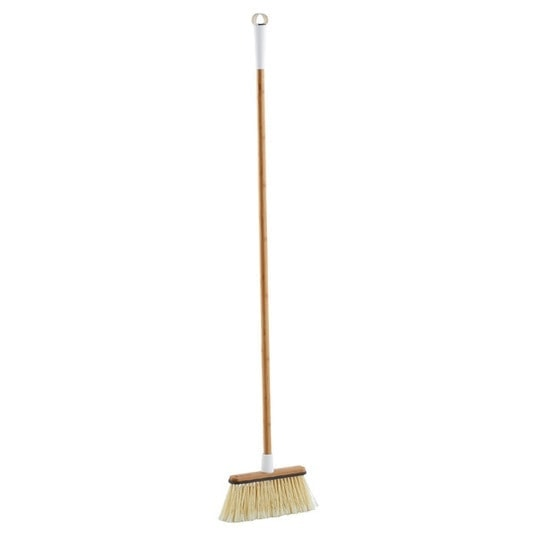 wood broom pretty cleaning supplies