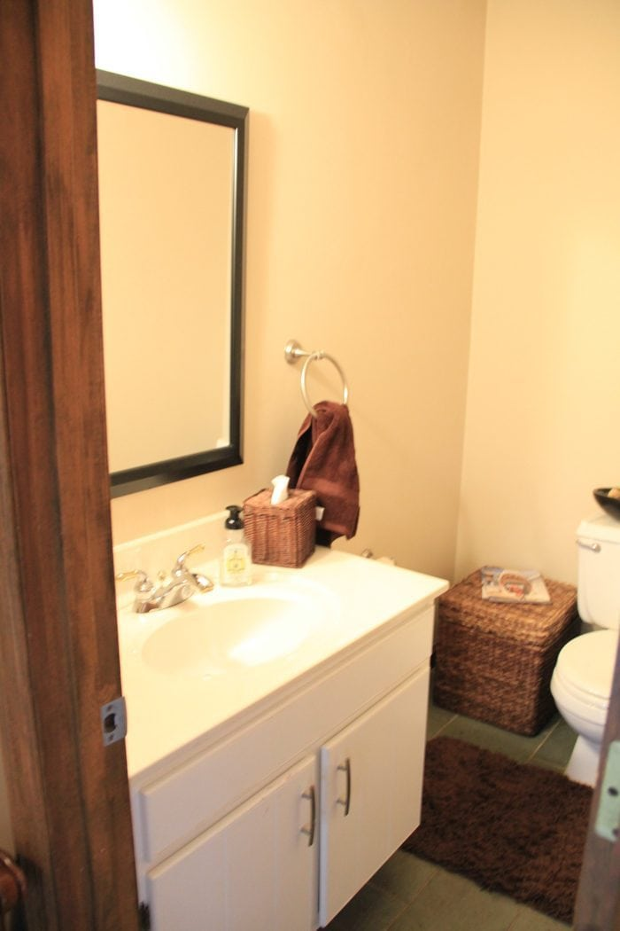 dated bathroom before photo